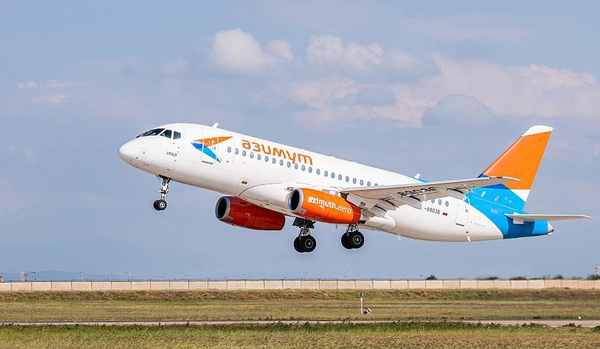 Авиакомпания «Азимут» увеличит количество маршрутов до 100