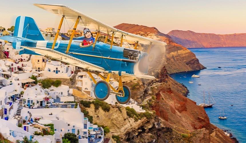 Слетать в Грецию иностранной авиакомпанией втрое дешевле, чем «Аэрофлотом»