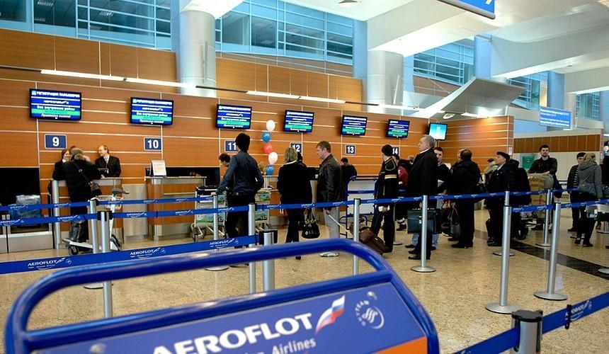 «Аэрофлот» предложил сделать платной регистрацию в аэропортах