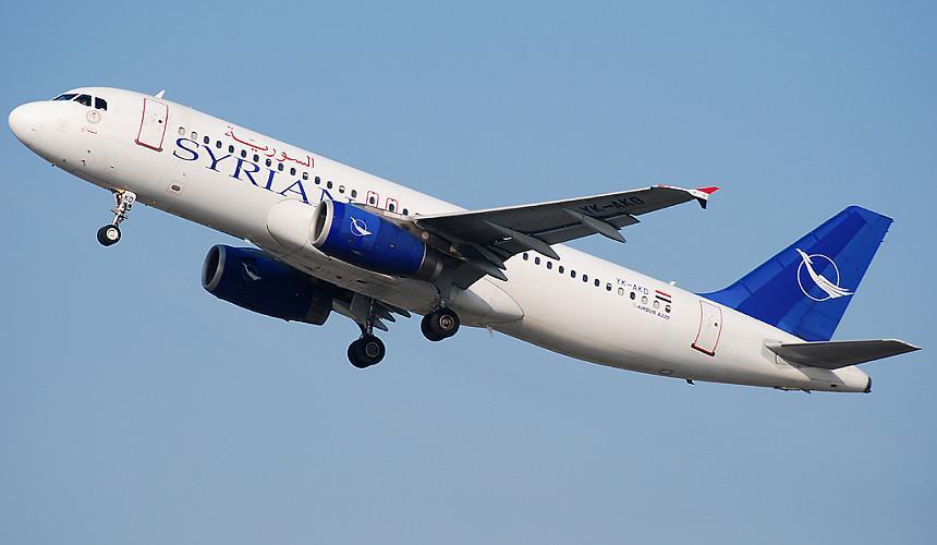 Syrian Airlines планирует возобновить рейсы в Россию уже в апреле