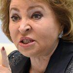 Матвиенко: карантинные ограничения в России могут быть сняты уже осенью