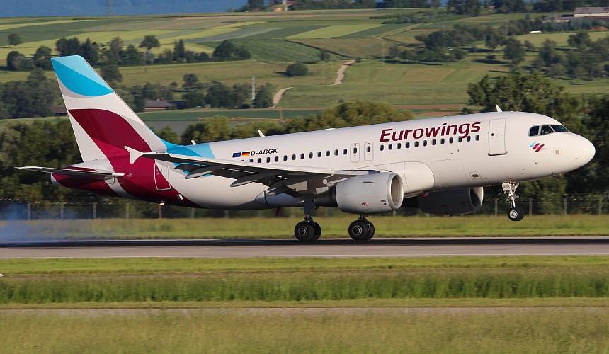 Авиакомпания Eurowings планирует рейсы в российские регионы с июля