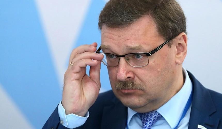 «Так проверяется нация»: Константин Косачев назвал поездки в Турцию «морально невозможными»