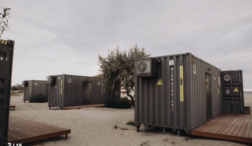 Туристы не готовы жить в контейнерах в Крыму