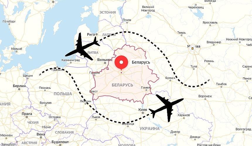 К каким последствиям приведет изменение маршрутов авиаперелетов в обход Беларуси