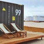 Туристам в Крыму предлагают пожить в железных контейнерах