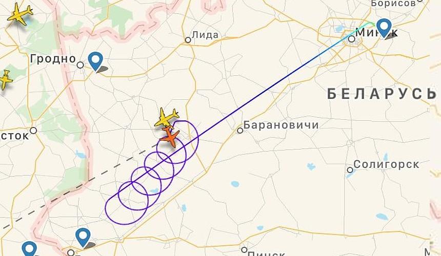 Европейские страны развернули рейс «Белавиа» в воздухе