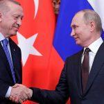 Путин и Эрдоган обсудили восстановление турпотока в Турцию из России
