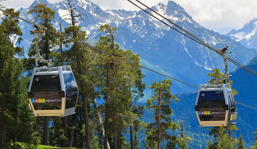 Курорты Северного Кавказа в период майских праздников в 2021 году приняли в 2 раза больше туристов