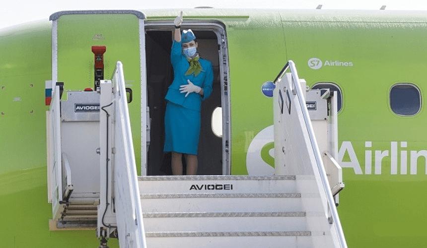 S7 планирует полететь в Салоники из российских регионов