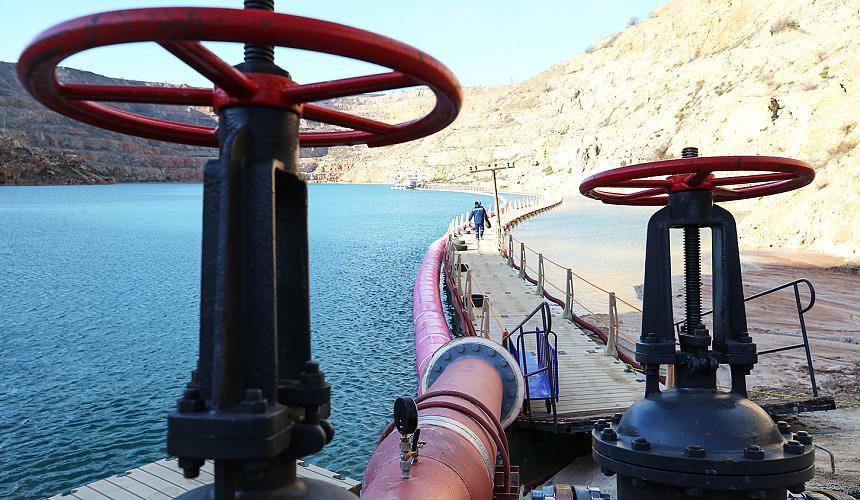 Крым обеспечен водой как минимум на год