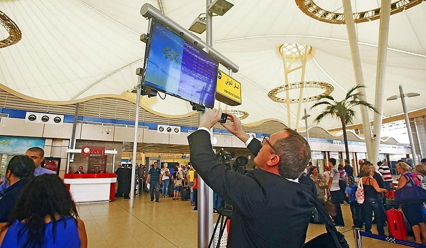 Аэропорты Хургады и Шарм-эль-Шейха инспектируют перед запуском рейсов