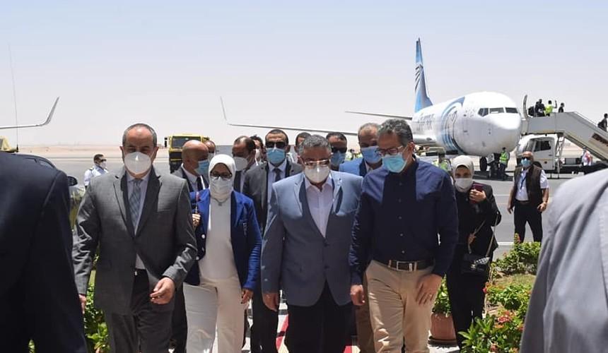 Египетские министры проверили Хургаду в ожидании чартеров из России