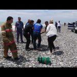 В Абхазии россиянку с тремя детьми унесло в штормовое море