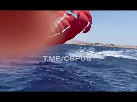 Туристка в Египте получила тяжелые травмы, катаясь с парашютом за катером
