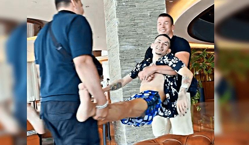 Рэпер Моргенштерн отметился в турецком отеле