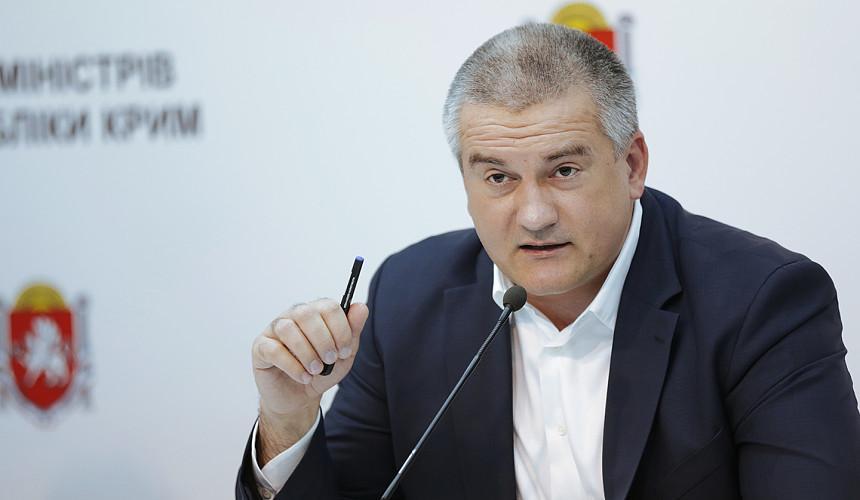 Аксенов: Крым установил антирекорд по случаям заражения коронавирусом
