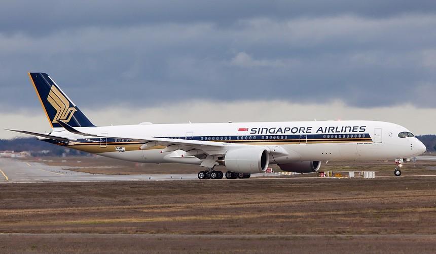 В Домодедово экстренно приземлился самолет Singapore Airlines