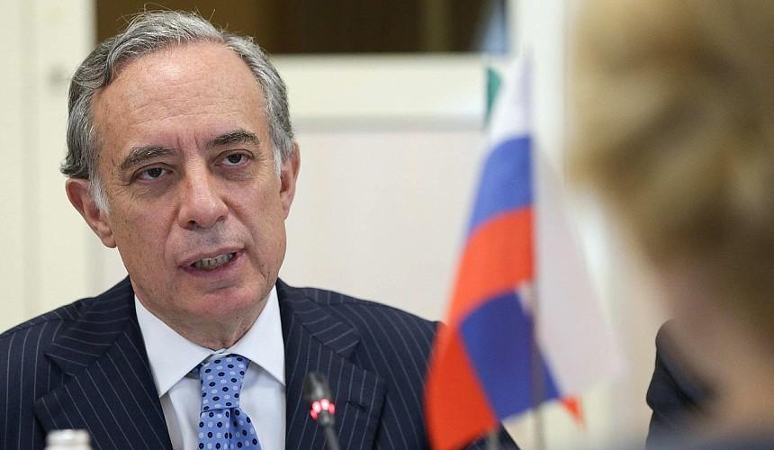 Посол Италии рассказал об открытии страны для российских туристов