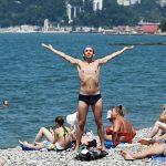 Краснодарский край за полгода принял более 6 млн отдыхающих