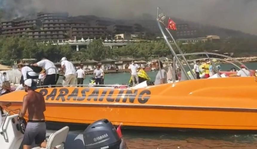 Пожары в Турции: какие отели затронуты и где эвакуировали туристов