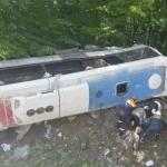 Два человека погибли в ДТП с туристическим автобусом в Краснодарском крае