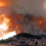 Ростуризм рекомендовал россиянам учитывать ситуацию с пожарами при поездках в Грецию