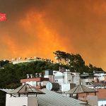 Пожары в районе турецкой Аланьи вспыхнули с новой силой