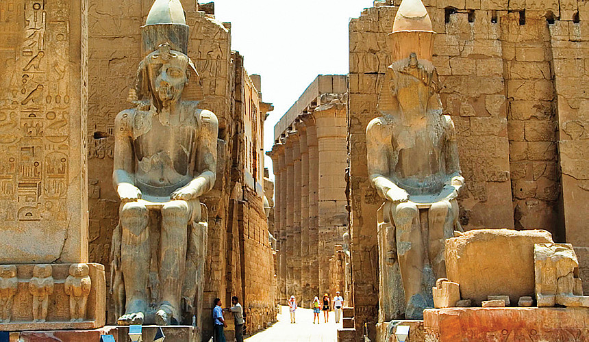 Туристы в Египте смогут летать между курортами и Луксором по льготному тарифу