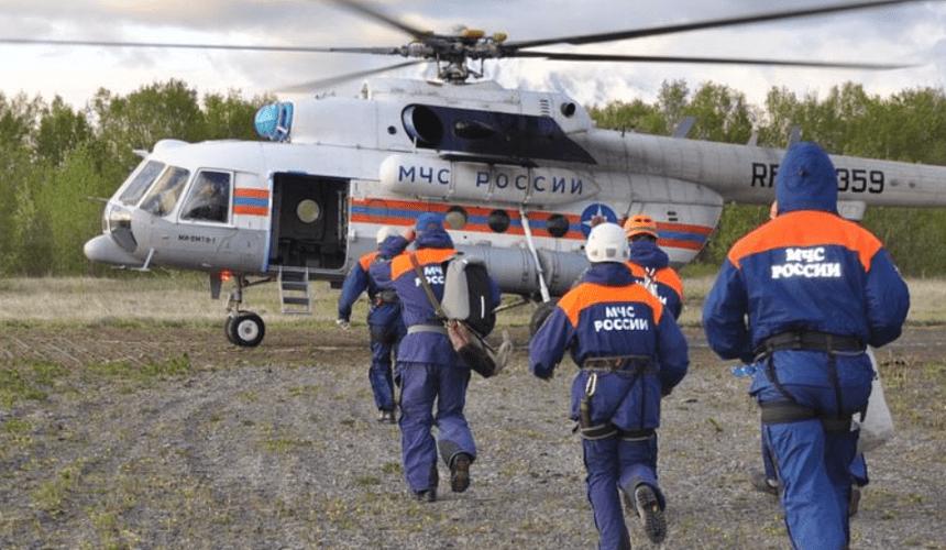 На Камчатке разбился вертолет с туристами