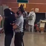 В аэропорту Шереметьево задержали женщину, устроившую погром у стоек регистрации