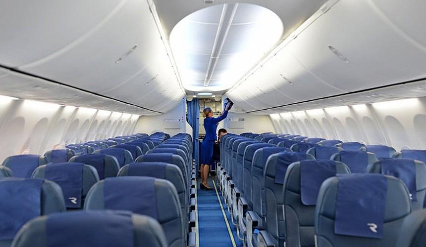Чистоту в салонах лайнеров российских самолетов в Египте будут наводить бортпроводники